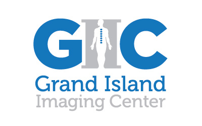 Grand Island Imaging Center logo design by infuze creative